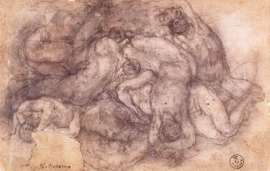 Jacopo Pontormo Group of the Dead  (1550)