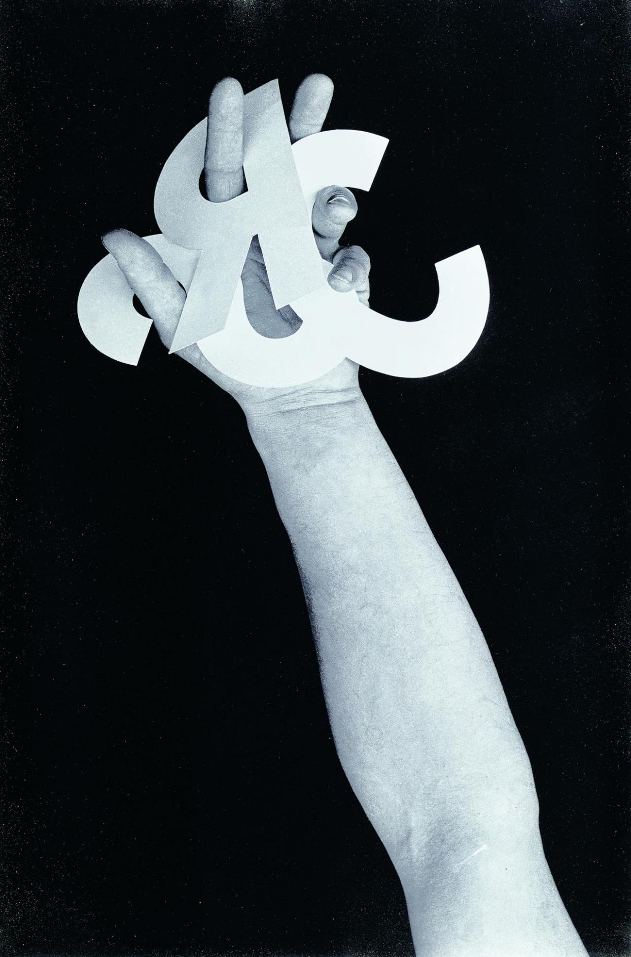 Taktile Poesie , Handalphabet , 1969, Photo: © Belvedere, Wien, Johannes Stoll Courtesy Josef Bauer; Krobath, Wien; Galerie Karin Guenther, Hamburg
