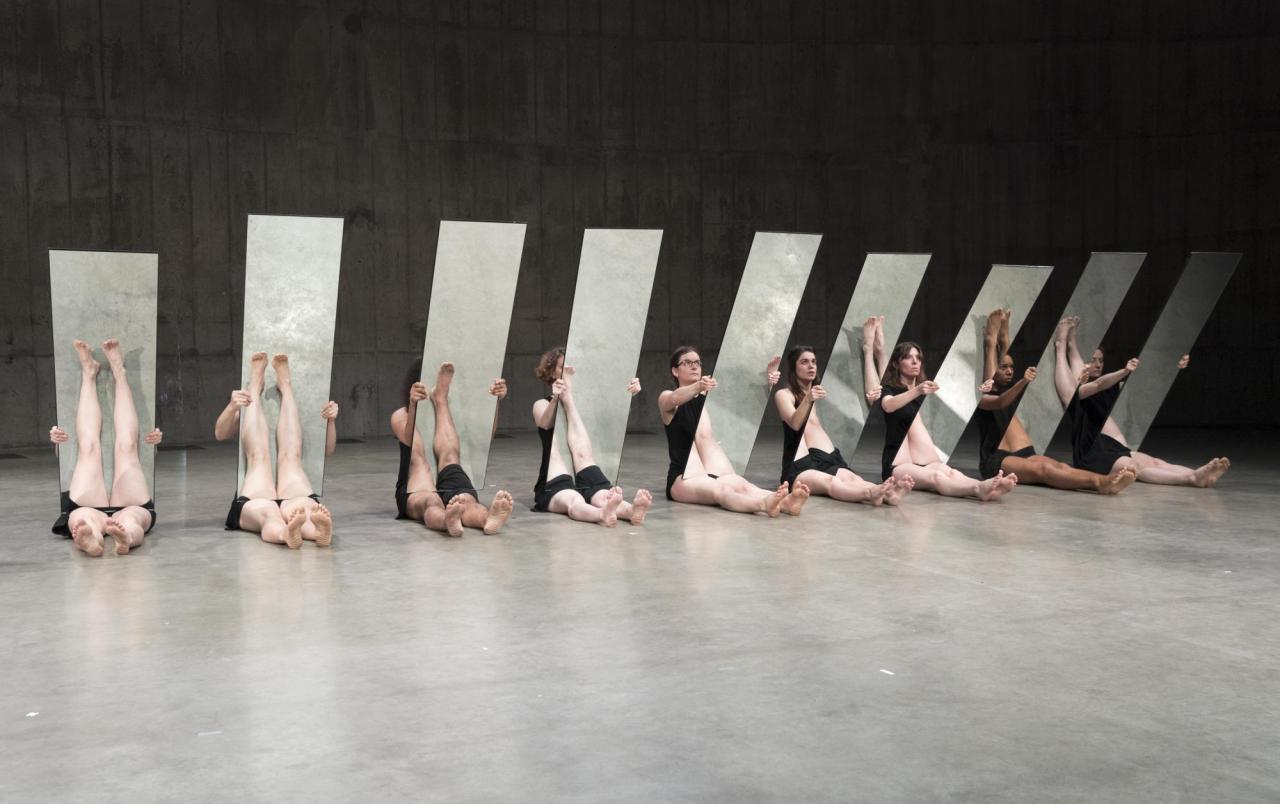 Joan Jonas  Mirror Piece II - Live Exhibition, Tate Modern