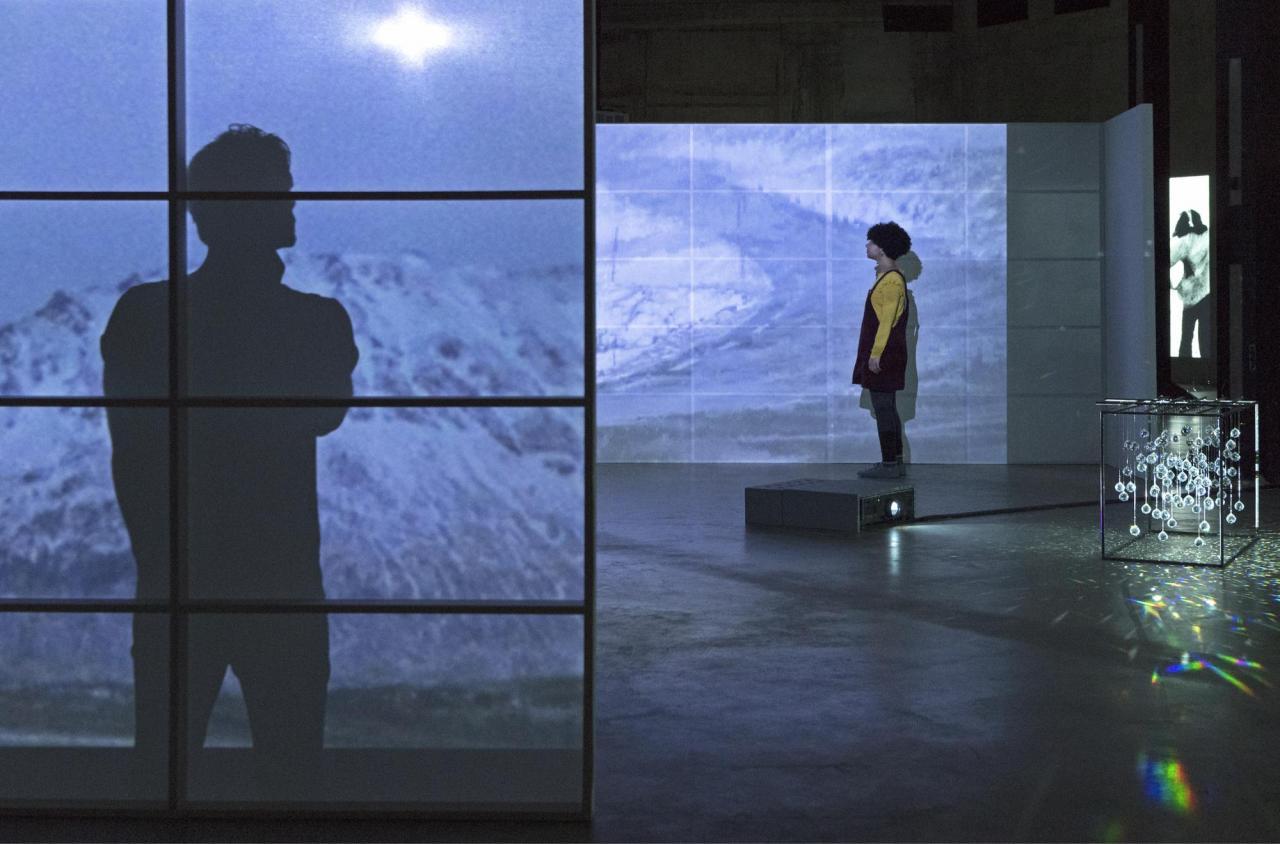 Joan Jonas                           Reanimation , Installation view               Tate Modern, 2018