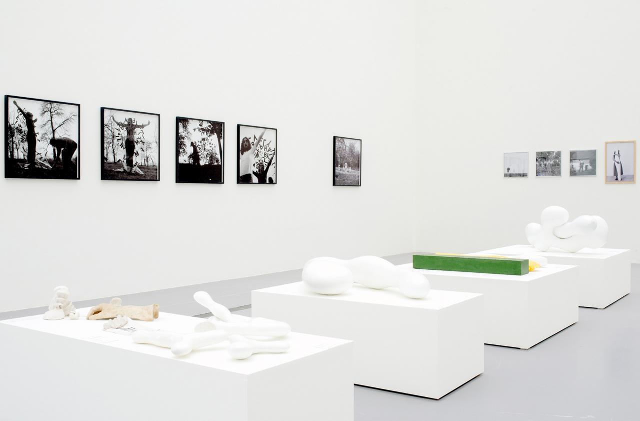 """Installation view """"Josef Bauer. Demonstration"""", Photo: maschekS"""