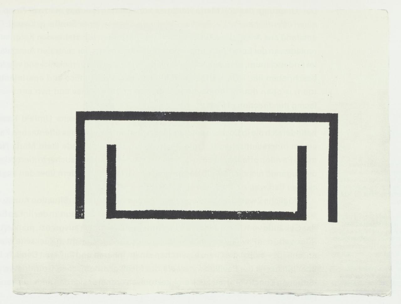 Above: Maria Nordman, For an Open Park (Bochum Plan) , 1985 Ink on paper, 58 x 77 cm © Maria Nordman & Situation Kunst; Collection Ruhr-University; Bochum