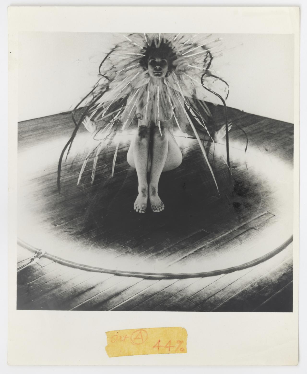 Mary Beth Edelson Bride of the Fire (1973) Courtesy of the artist and David Lewis, New York