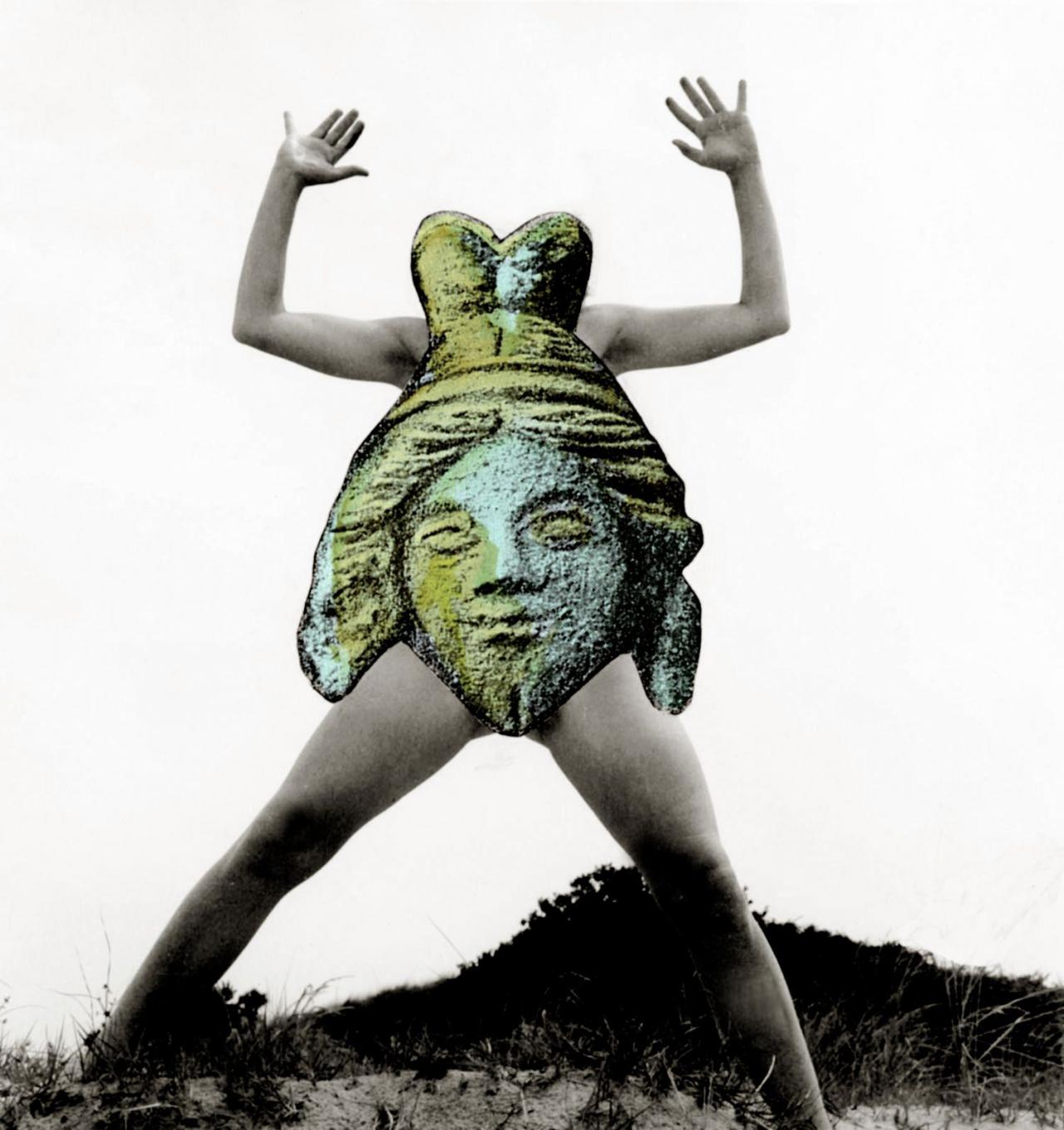 Mary Beth Edelson Trickster Body (1973) Courtesy of the artist and David Lewis, New York