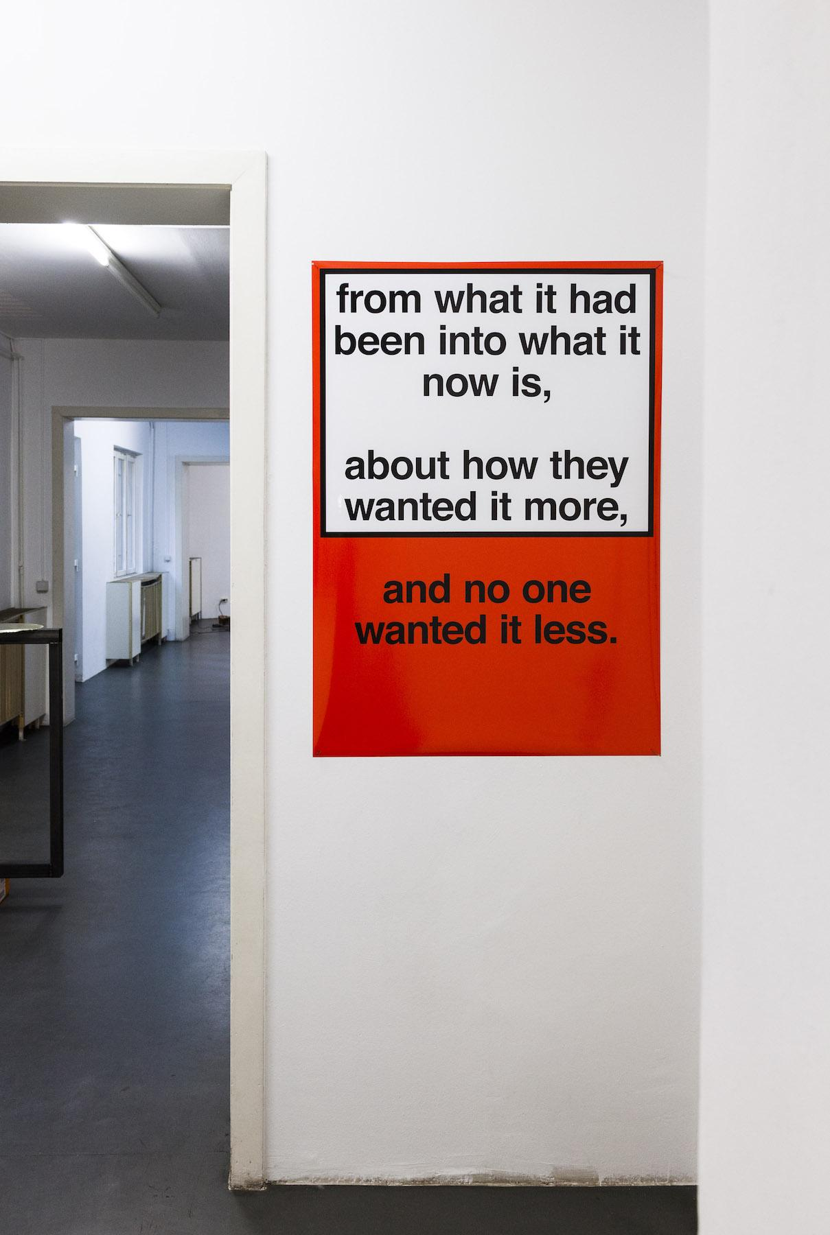Nora Turato from what it had been into what it now is, …, 2018, Inkjet Print, 84,1 x 118,9 cm, unique