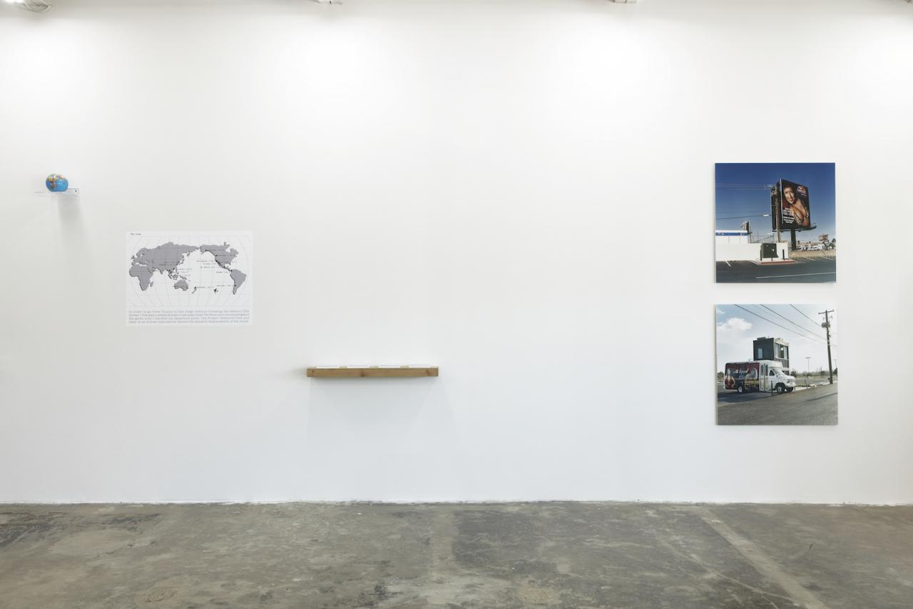 """PARIS TEXAS"" (2017), exhibition view at galerie frank elbaz, Dallas, TX, USA Photo: Kevin Todora"