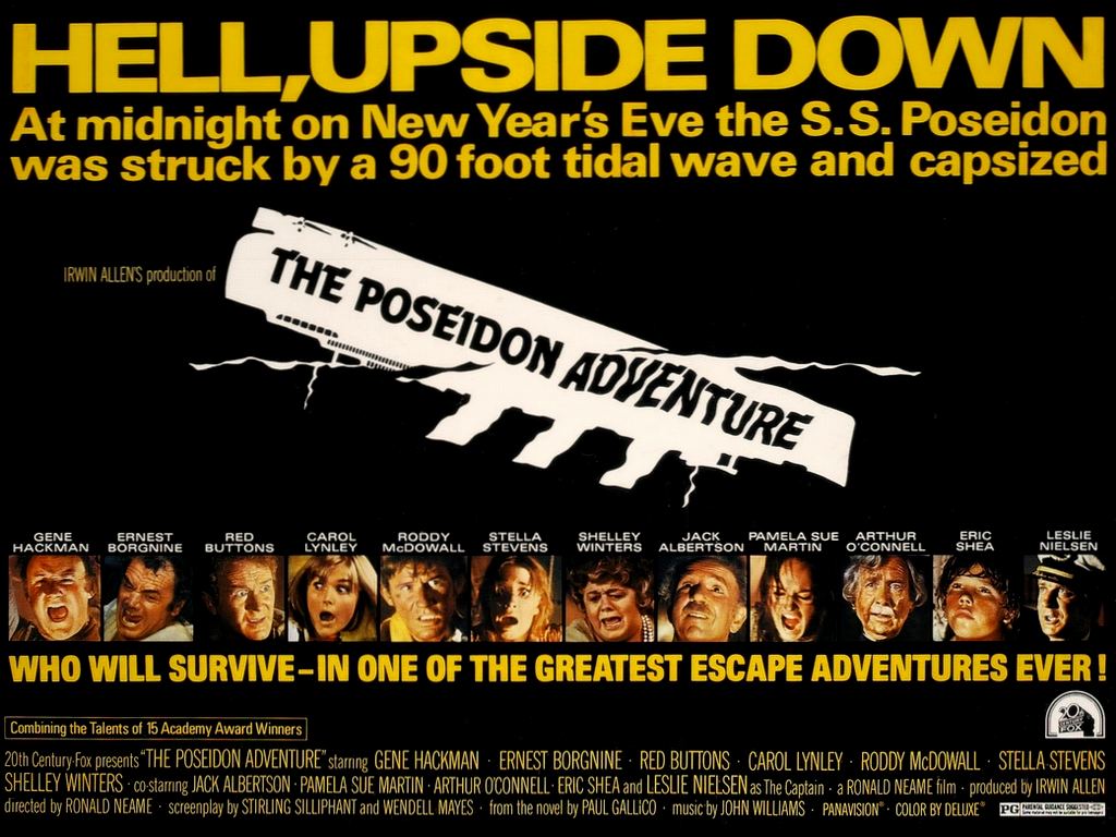 The Poseidon Adventure , 1972, 20th Century Fox Theatrical Poster, Mort Künstler