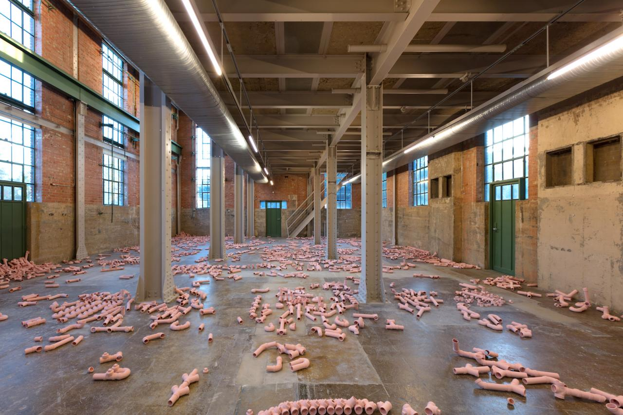 Calvin Marcus the inner is the outer of the other (2017) at Power Station Photo: Kevin Todora