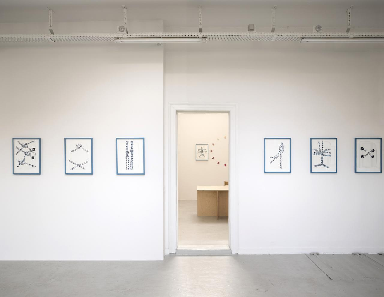 """Timothy Fury """"A New Body of Work"""" (2017-18), exhibition view at Bianca D'Alessandro"""