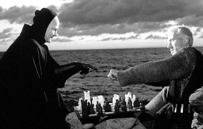 Still from Ingmar Bergman, The Seventh Seal , 1957