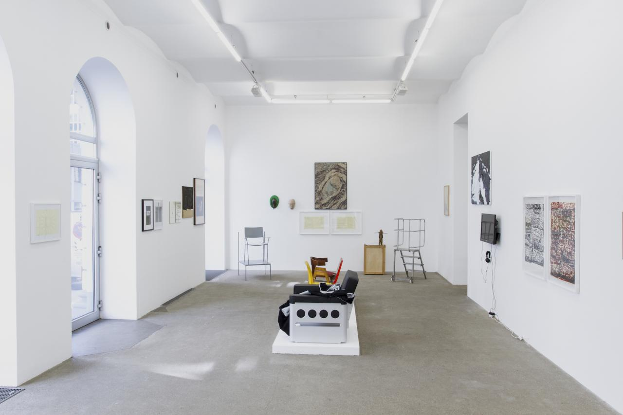 "Exhibition view of ""vienna waits for you – take care!"" curated by_Markus Mittringer at Galerie Elisabeth & Klaus Thoman, Wien Photo: © Galerie Elisabeth & Klaus Thoman/Lena Kienzer"