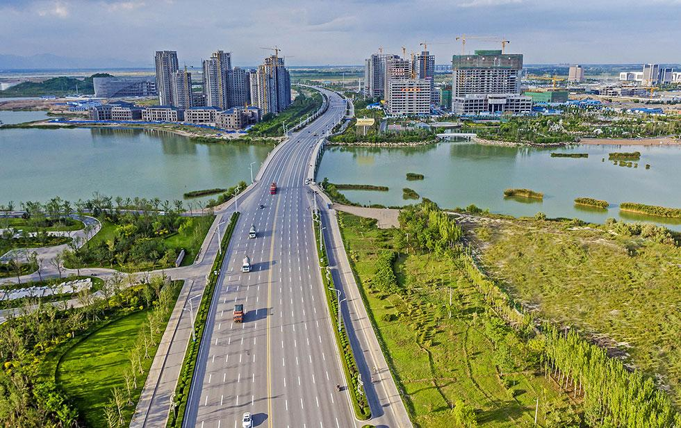 View of Yinchuan