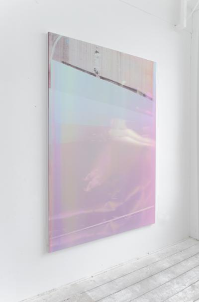 Paul Kneale, Bump Bump, 2015 Inkjet print on canvas Courtesy of the Artist and Artuner