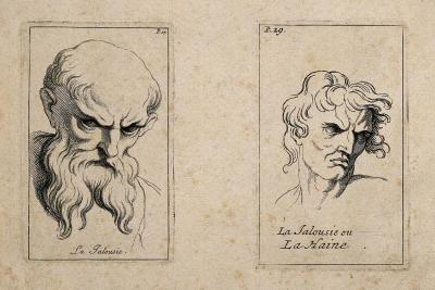 Etching by B. Picart, 1713, after C. Le Brun