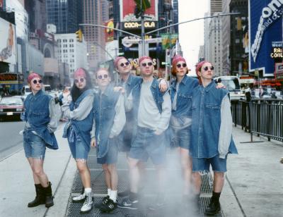 Art Club 2000, Untitled (Times Square / Gap Grunge 1), 1992-1993, C-Print