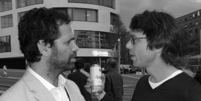 Gavin Brown (links) und Daniel Baumann (rechts)
