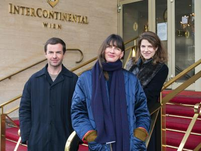 Emanuel Layr, Henrikke Nielsen, Sophie Tappeiner; Photo by Katharina Gossow