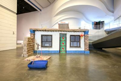 Marjetica Potrč Yinchuan Rural House​​​​​​​  (2018) © Photo: Courtesy the Yinchuan Biennale
