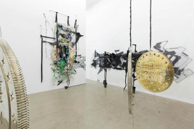 """Installation view """"KAYA V,"""" Galerie Meyer Kainer, Vienna 2014 Courtesy Galerie Meyer Kainer Photo: Uli Holz"""