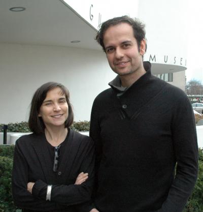 Nancy Spector & Tino Sehgal Foto: David Velasco