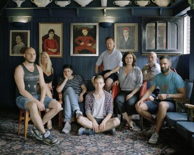 "Jan Klos, The Nelson's Head Pub , June 2014, from the series "" Pubs of East London"", 2014 –"