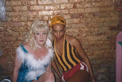 Lady Bunny and RuPaul
