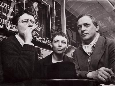 Guy Debord, Michèle Bernstein & Asger Jorn, 1961