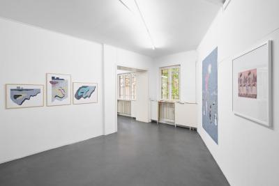 """Installation view """"On Adornments"""", 2020, Spike Berlin"""