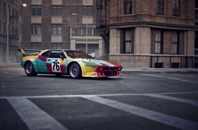 BMW Art Car by Andy Warhol in Paris © BMW AG