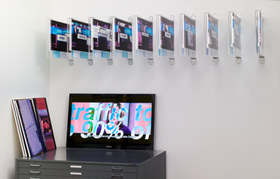»Corporate Video Decisions«, 2011, exhibition view, Friedrich Petzel Gallery, New York Courtesy of the artist and Friedrich Petzel Gallery, New York