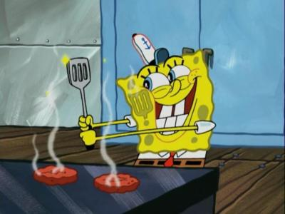 Still from Sponge Bob Square Pants