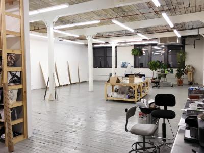 Interior view Sanya Kantarovsky's studio All images courtesy of Sanya Kantarovsky