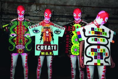Walter Van Beirendonck, W:A.R. (Walter About Rights), 2020