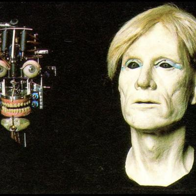 Andy Warhol robot, built by Alvaro Villa and his company AVG