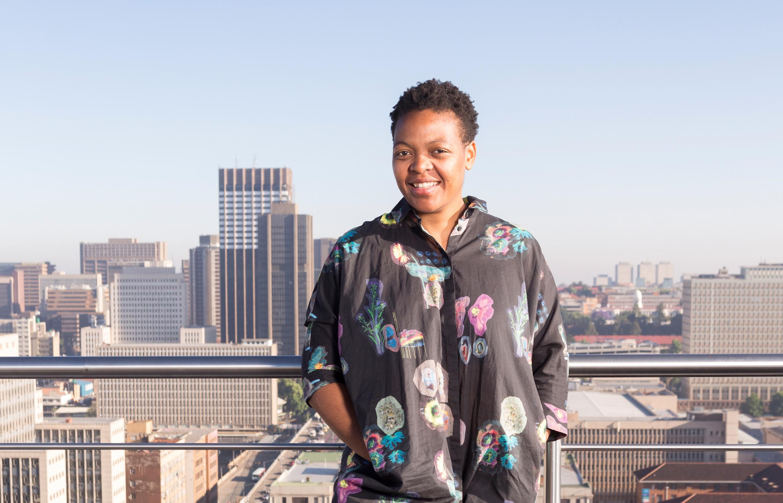 Resultado de imagem para Gabi Ngcobo
