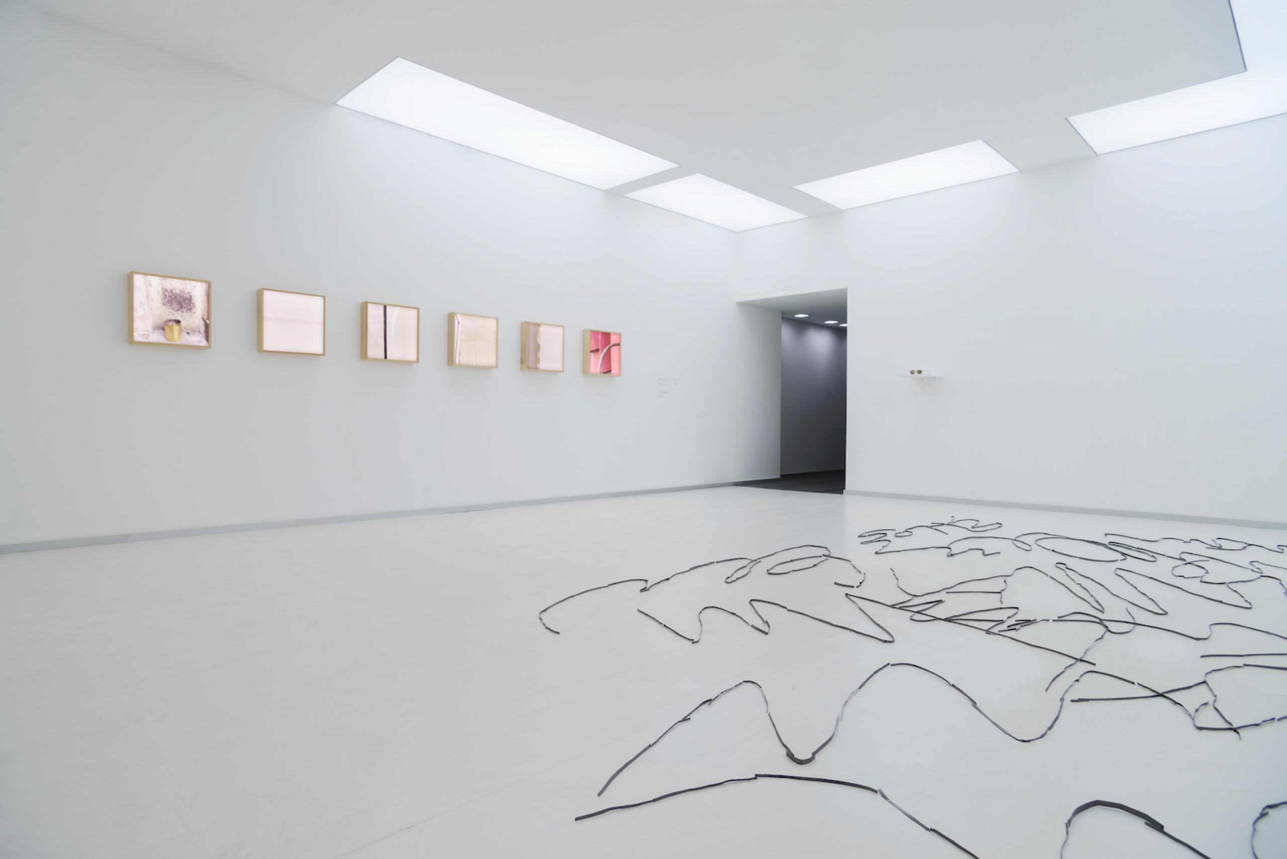 Anna Zvyagintseva Scratches (2018) Installation view of the exhibition of the shortlisted artists for the PinchukArtCentre Prize 2018