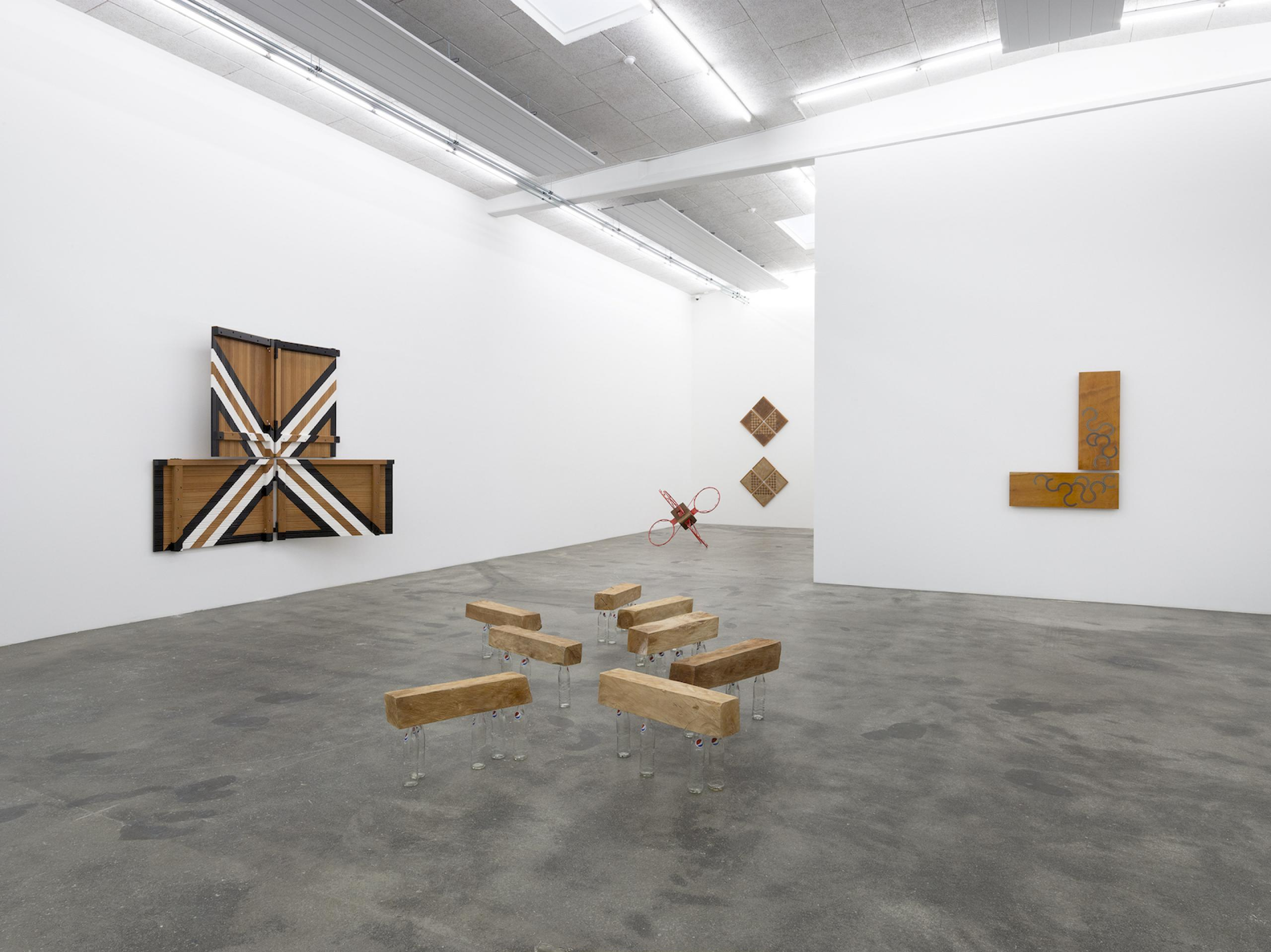 "Darío Escobar ""Uncertainty Principle"" (2018), Installation view at Galleri NilsStærk"