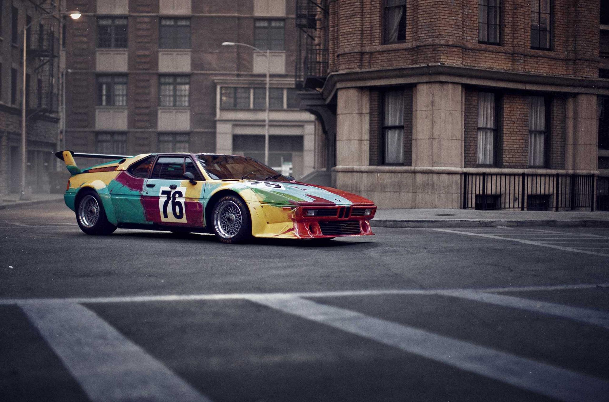 BMW Art Car by Andy Warhol in Paris © BMW AG