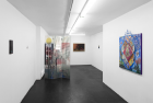 Installation view of Bodega hosting Galerie Crèvecœur, Paris