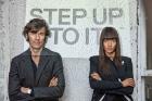 Stefan Sagmeister & Jessica Walsh, Portrait, 2013 © John Madere