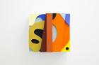 Rodrigo Hernandez Zapaya (2018) Cardboard, wood, oil paint, 30 x 33 x 21 cm
