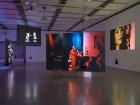 """""""Doppelleben"""" Ausstellungsansicht im Mumok, Wien"""