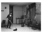 Jeff Wall, Volunteer, 1996 Silver Gelatin Print, 221.5 x 313 cm, Ed 1/2 + AP Emanuel Hoffmann Foundation, on permanent loan to the Öffentliche Kunstsammlung Basel