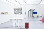 "Installation view ""Josef Bauer. Demonstration"" LENTOS Kunstmuseum Linz, 2020 Foto: maschekS."