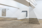 Installation view from Condo 2018, König London & Galeria Jaqueline Martins, showing Lydia Okumura, Jeppe Hein & Jose Dávila Courtesy König London,Photo: Damian Griffiths Jaqueline Martins hosted by König London
