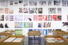 """Ausstellungsansicht """"VALIE EXPORT. Das Archiv als Ort künstlerischer Forschung"""" (2017) LENTOS Kunstmuseum Linz Foto: maschekS."""