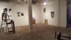 "Adisak Chocksongsaeng Installation view of ""Being There"" (2017) at Speedy Grandma"