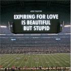 Jenny Holzer For Cowboys (2012) at AT&T Stadium
