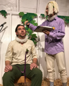Pelléas&Mélisande: A Vaudeville Symbolist Duodrama at Chicken Coop Contemporary