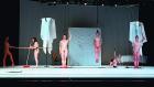 TANZ , 2019 Performance view, City of Women, Kino Šiška, Ljubljana, 2019 Renee Copraij, Trixie Schoenherr, Netti Nueganen, Veronica Thompson, Laura Stokes, Florentina Holzinger © Nada Zgank